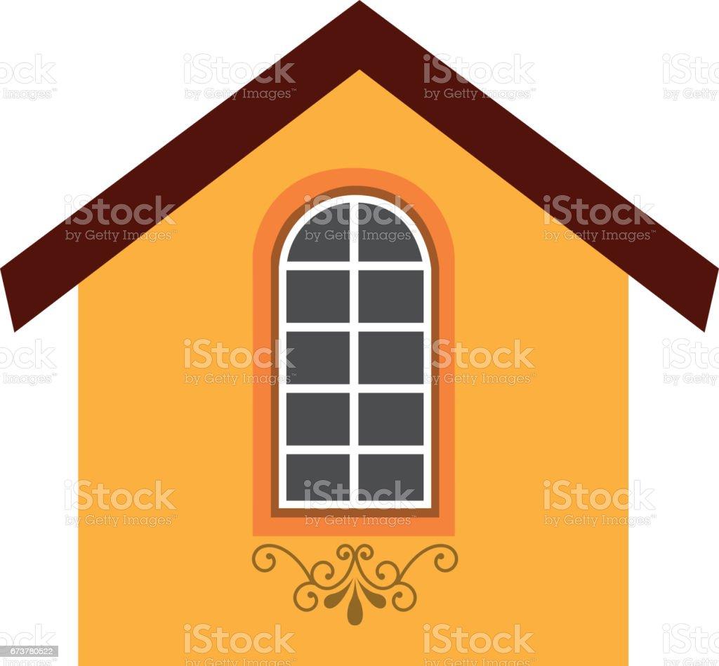 icône extérieur jolie maison icône extérieur jolie maison – cliparts vectoriels et plus d'images de affaires finance et industrie libre de droits