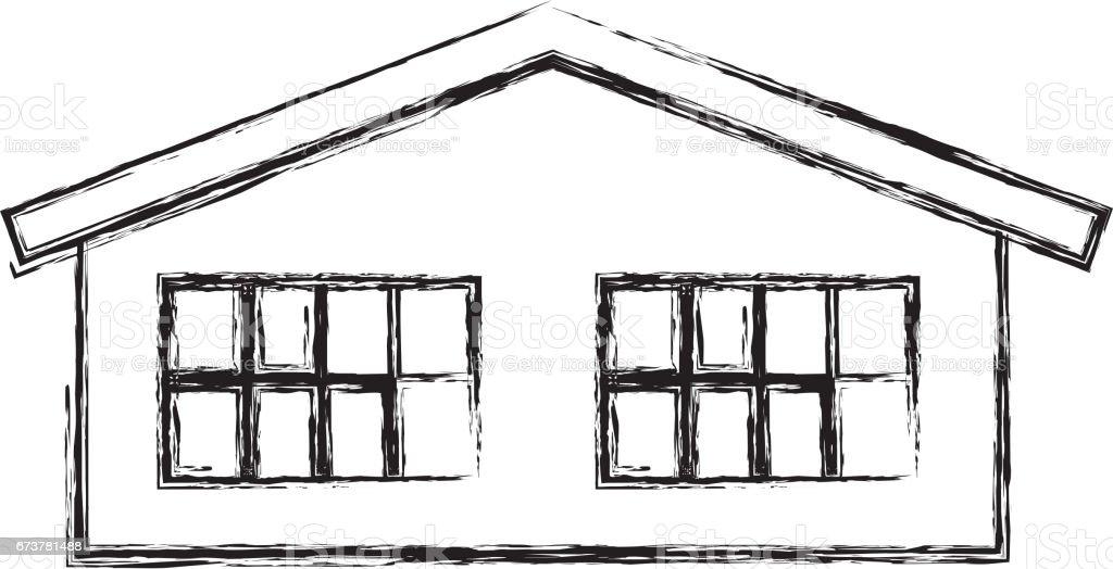 sevimli ev dış simge royalty-free sevimli ev dış simge stok vektör sanatı & apartman'nin daha fazla görseli