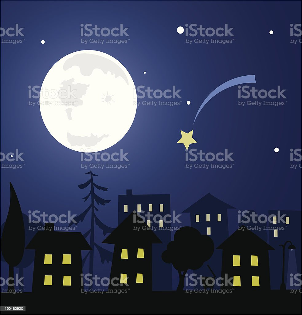 cute houses royalty-free stock vector art