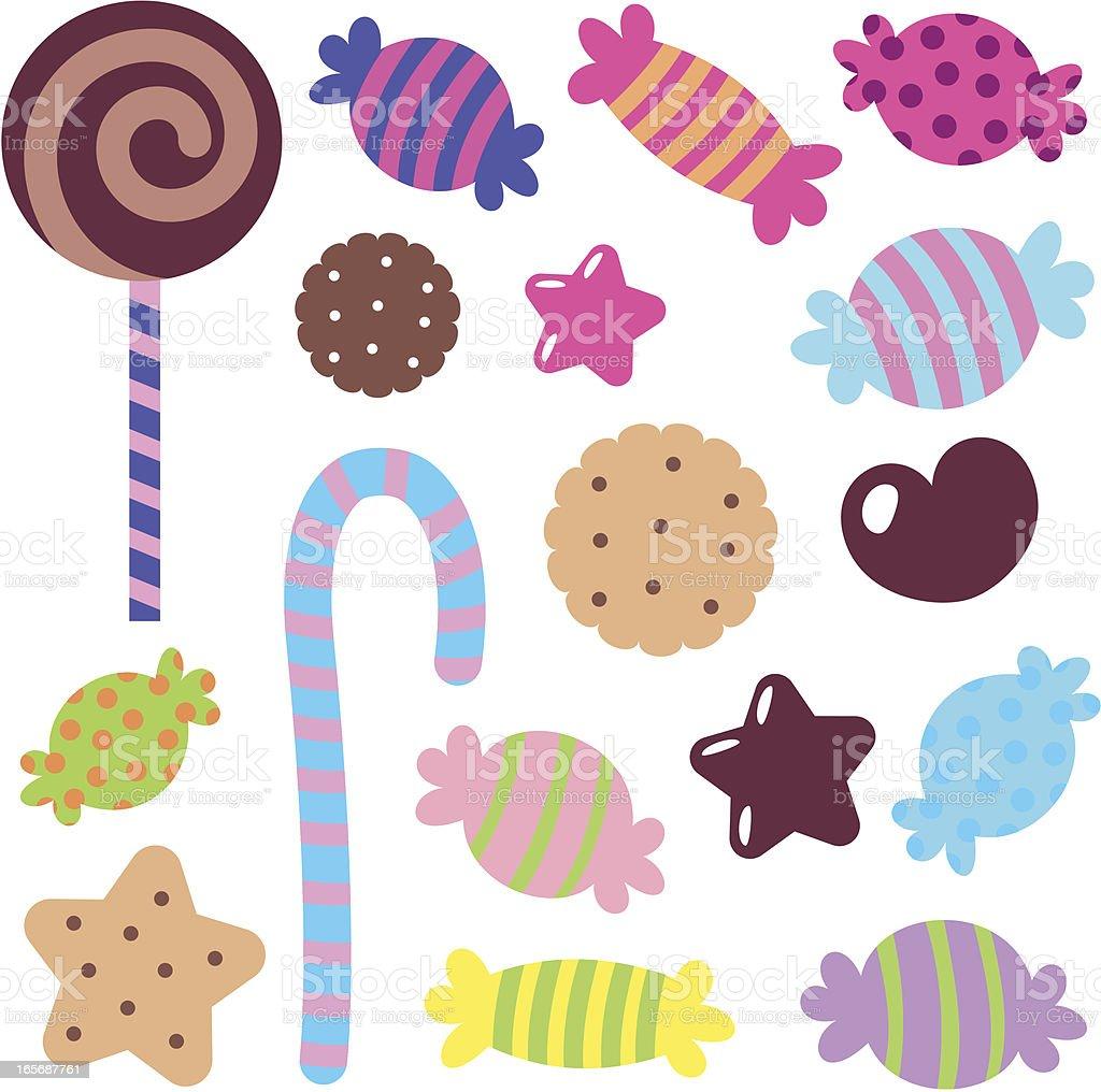 かわいいのアイコンセット カラフルな甘いお菓子 あこがれのベクターアート素材や画像を多数ご用意 Istock