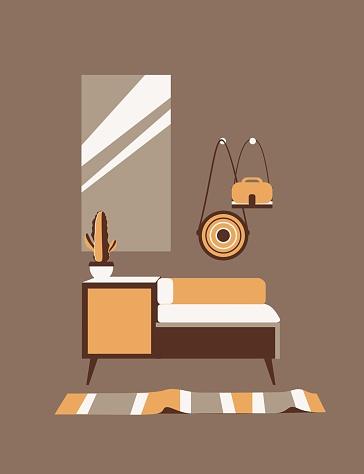 cute interior of a cozy room