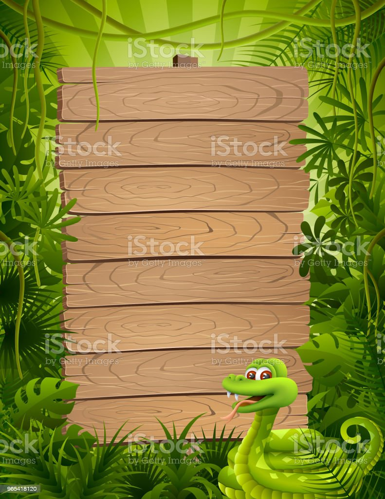 Cute Jungle Snake royalty-free cute jungle snake stock vector art & more images of animal