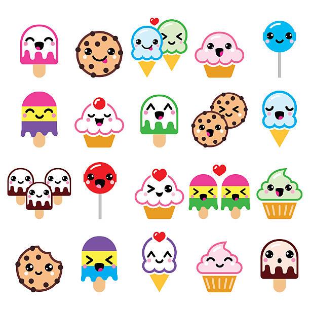 Cute Kawaii Food Characters