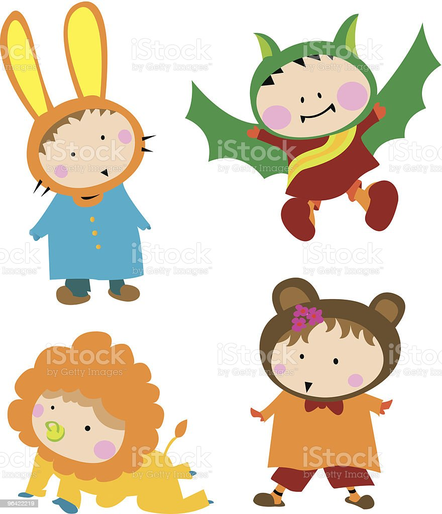 Cute Kid Costume royalty-free cute kid costume stock vector art & more images of baby