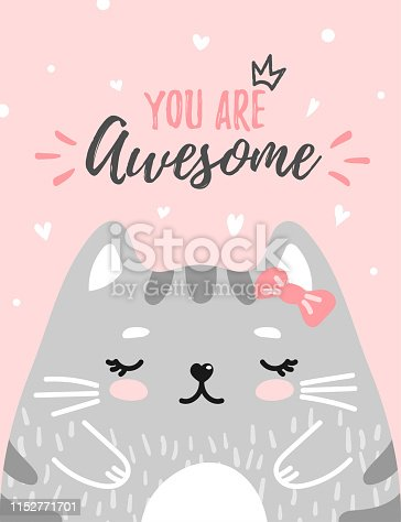 Cute kitty you are awesome