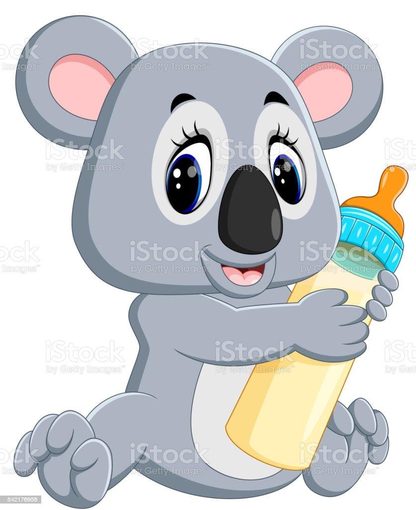 cute koala cartoon stock vector art 542176956 istock