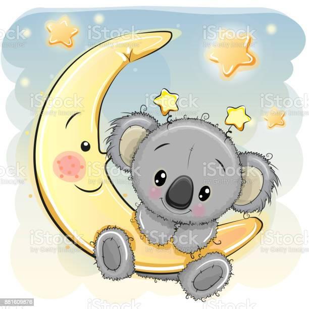 Cute koala on the moon vector id881609876?b=1&k=6&m=881609876&s=612x612&h=rhc xhncuzocquiulyfy8ekxwod3kssos8euo jdjew=