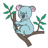Cute Koala Print