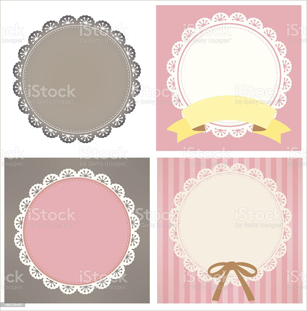 Cute Lace Pattern royalty-free cute lace pattern stock vector art & more images of backdrop