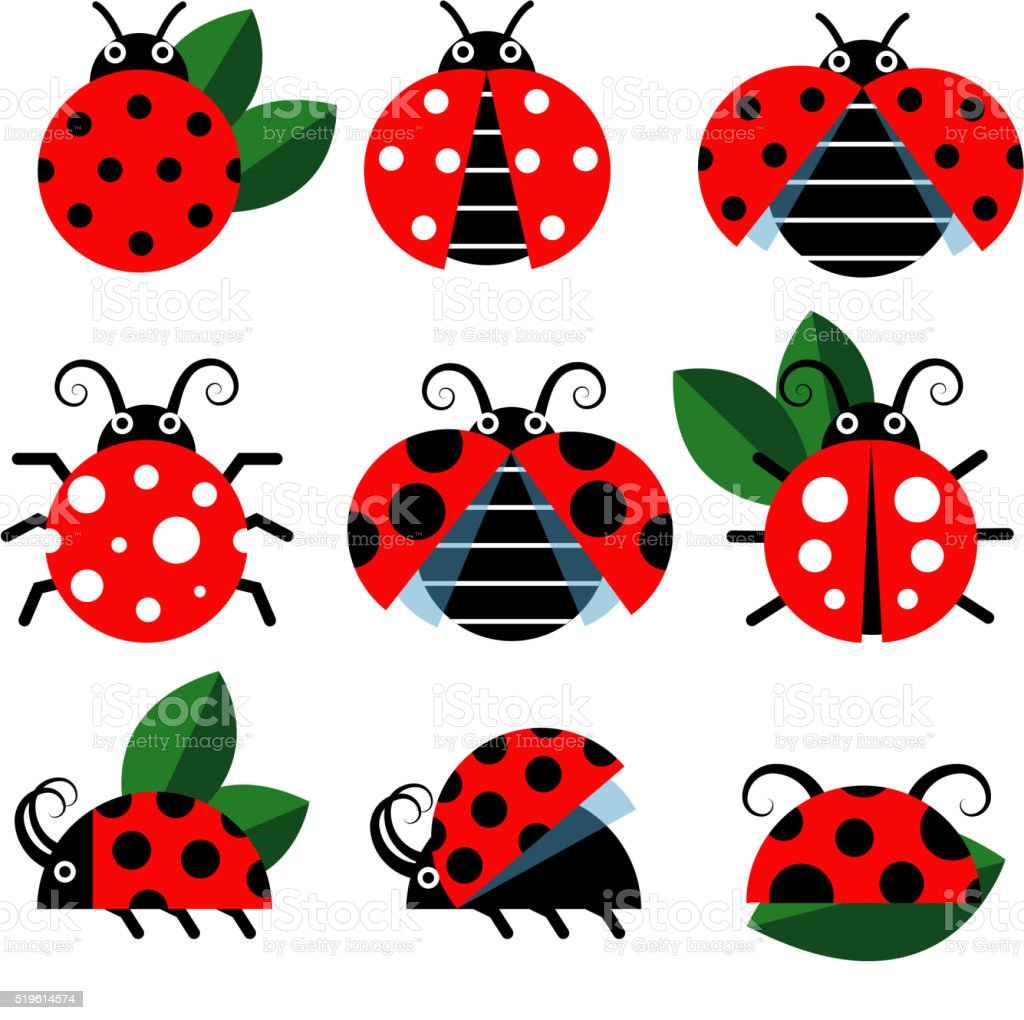 Cute ladybug vector stock vector art more images of animal body cute ladybug vector royalty free cute ladybug vector stock vector art amp more images stopboris Images