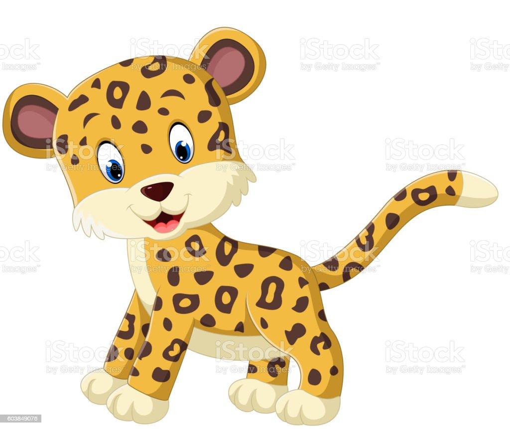 royalty free leopard cubs clip art vector images illustrations rh istockphoto com leopard print clipart snow leopard clipart
