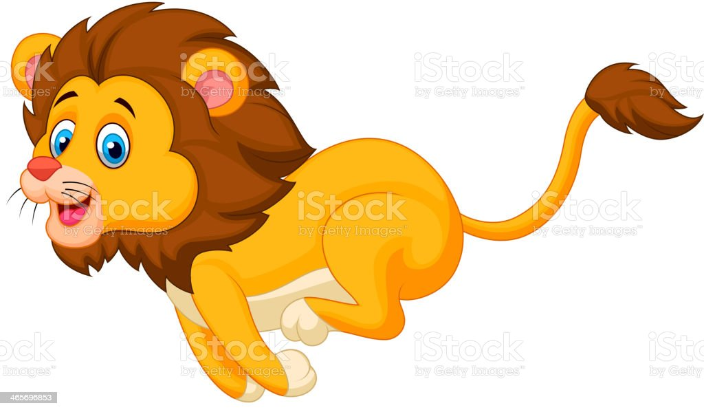 royalty free running lion clip art vector images illustrations rh istockphoto com lion clip art to print lion clip art pictures