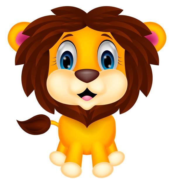 Royalty Free Lion Cub Clip Art, Vector Images ...