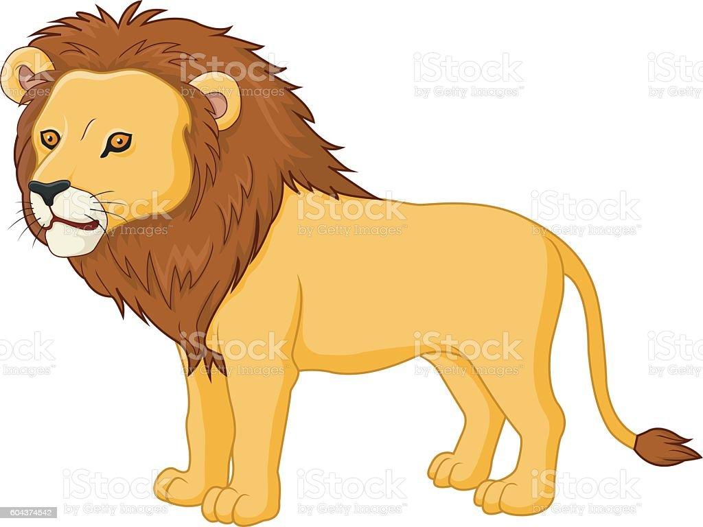 Lion Dessin Anime Mignon Vecteurs Libres De Droits Et Plus D Images Vectorielles De Animaux De Safari Istock