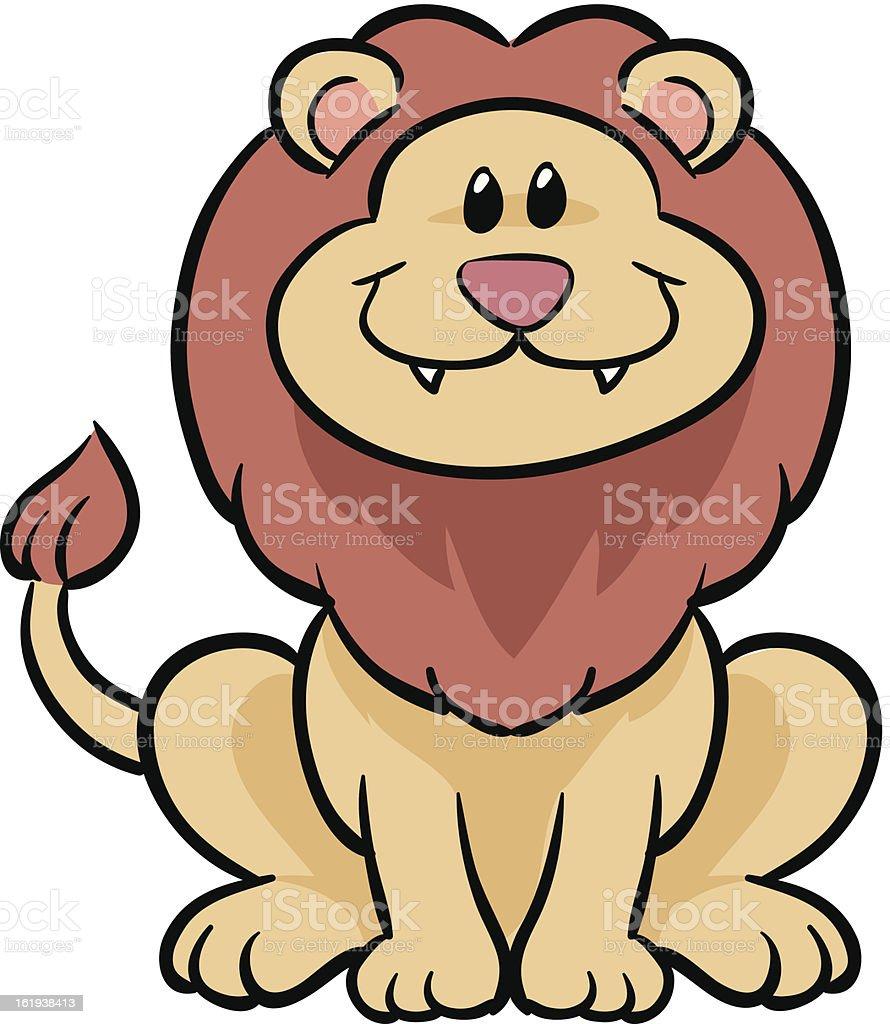cute lion vector illustration stock vector art 161938413 istock