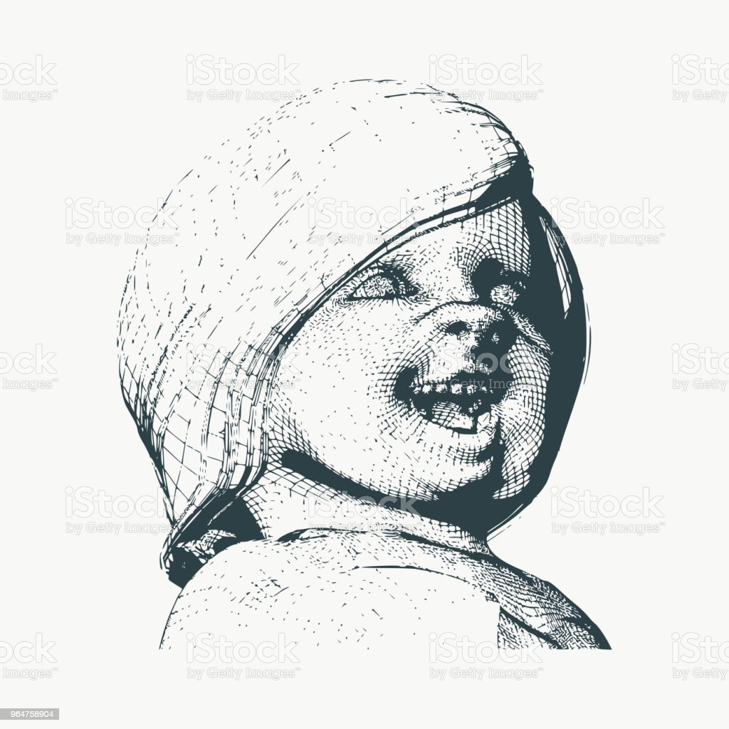 Cute little baby royalty-free cute little baby stock vector art & more images of baby