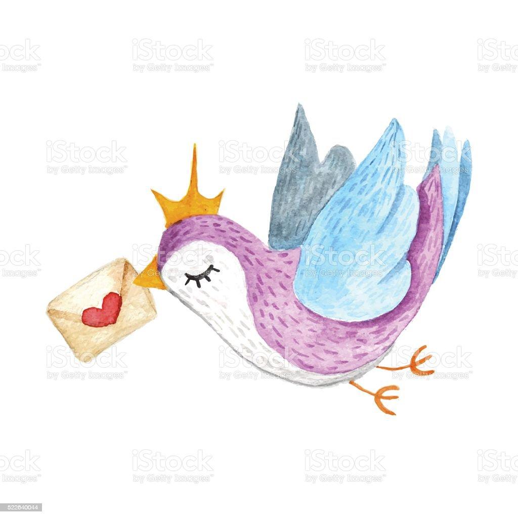 free love bird vector