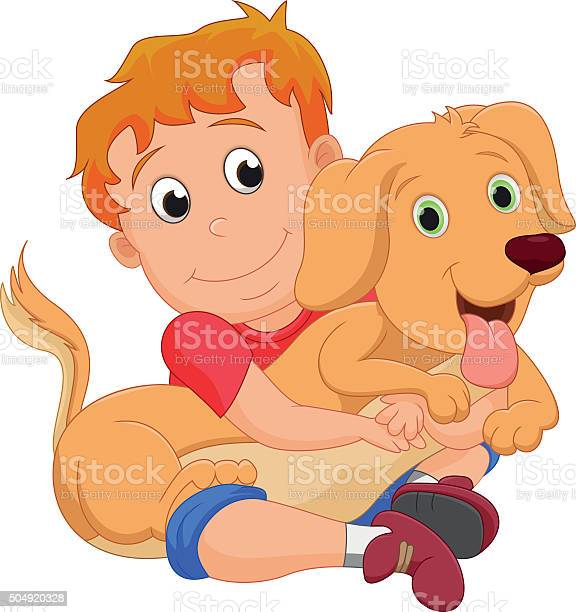 Cute little boy hugging his pet dog vector id504920328?b=1&k=6&m=504920328&s=612x612&h=flaqcj2e7dsznlzfufzzxkjd nupqqlym7tmdg0m ku=