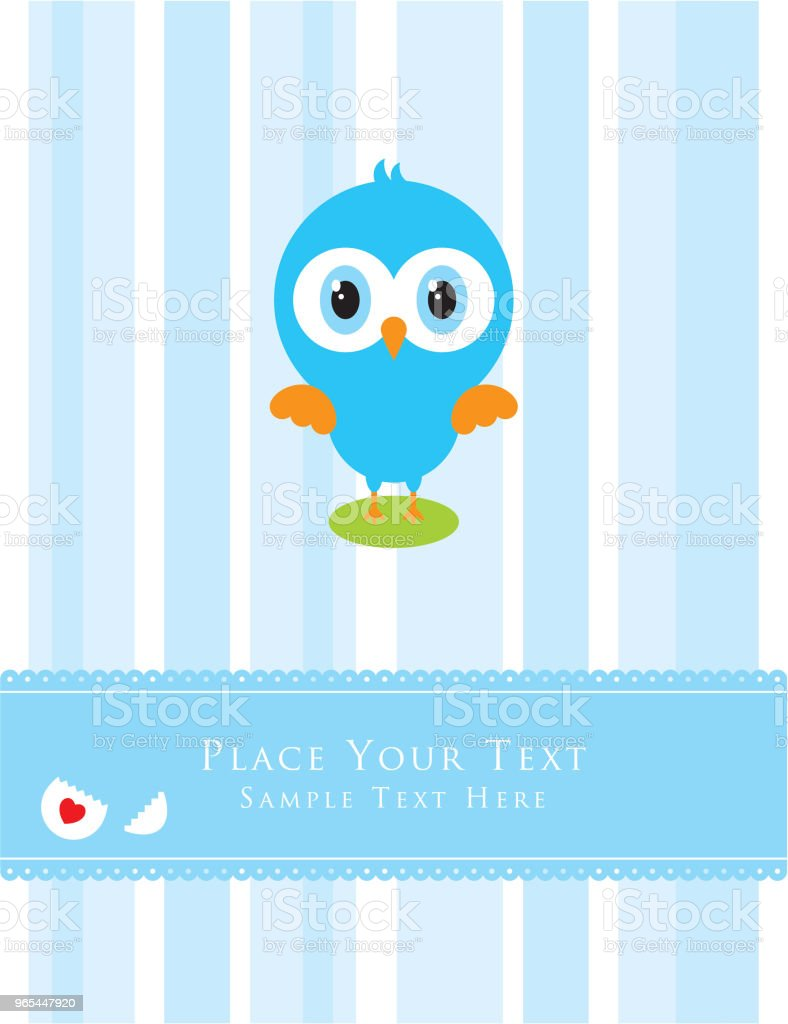 cute little chicken greeting card royalty-free cute little chicken greeting card stock vector art & more images of animal