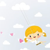 Angel swinging. Please see some similar pictures in my lightboxs: