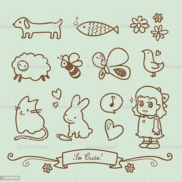 Cute little girl doodle drawings vector id165069393?b=1&k=6&m=165069393&s=612x612&h=ilqb7m9efkxodtcktllbahdznjlitnsjj7mbtoiyy2w=