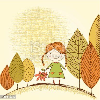 istock Cute Little Girl 165812712