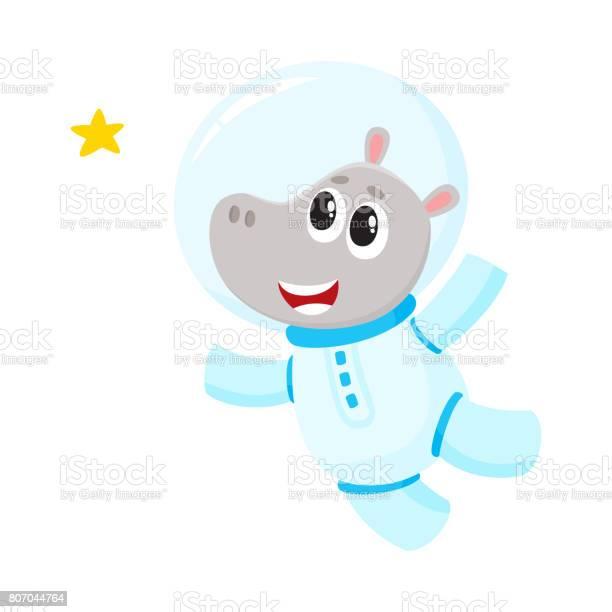 Cute little hippo animal astronaut spaceman character wearing space vector id807044764?b=1&k=6&m=807044764&s=612x612&h=x9wowa8w nwf5bpdhbfqztlp5jpdu2ebrb6ljorps u=