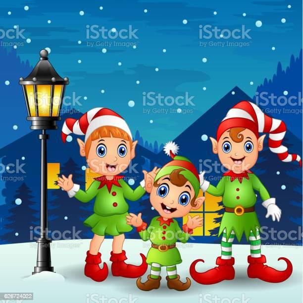 Cute little kid elves with snowfall falling vector id626724022?b=1&k=6&m=626724022&s=612x612&h=gdwfadfr4cr1ly  zeuvnr15efdsmhtp fgm6smuuik=