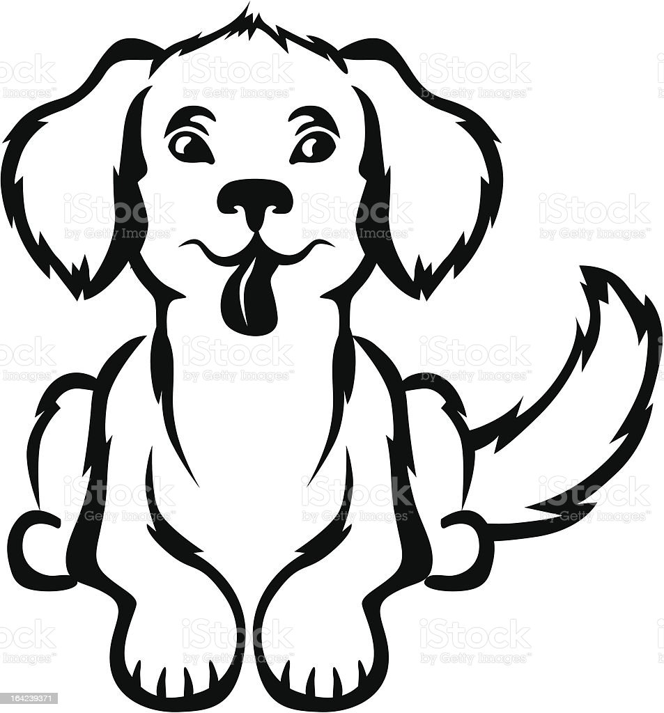 Cute little puppy royalty-free cute little puppy stock vector art & more images of animal