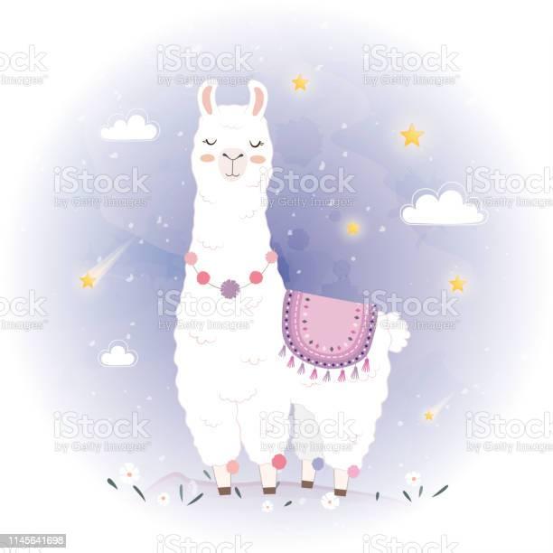 Cute llama design with meteor vector id1145641698?b=1&k=6&m=1145641698&s=612x612&h=bewvtigi asz yhw8fvweu8tz9whp vibnrcvws3z1g=