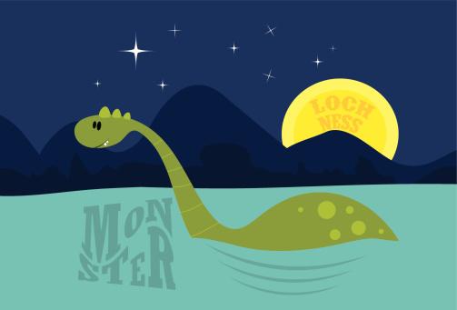 Cute Loch Ness Monster