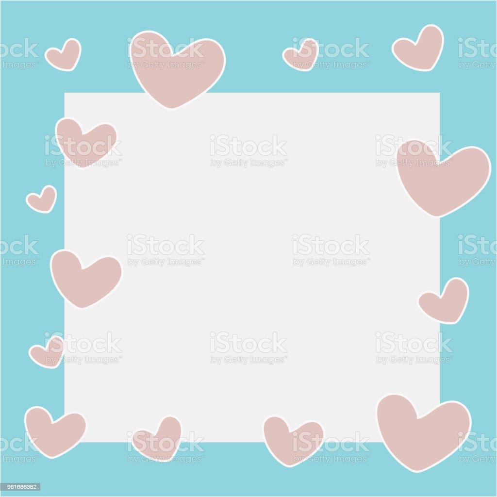 かわいい愛メモ壁紙背景 イラストレーションのベクターアート素材や