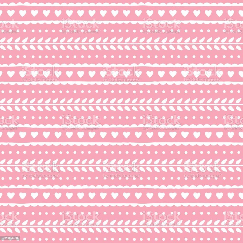 Patrón Transparente Precioso Lindo Para San Valentín O El Diseño De ...