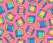 cute minimalist seamless pattern