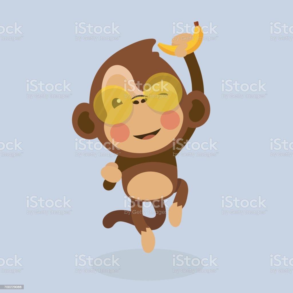 かわいい猿の漫画 のイラスト素材 700229088   istock