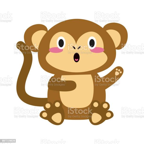Cute monkey cartoon vector id897229626?b=1&k=6&m=897229626&s=612x612&h=via81fjkwripecustm3ttdhzpq6dk6jkdgwrsyynpmw=