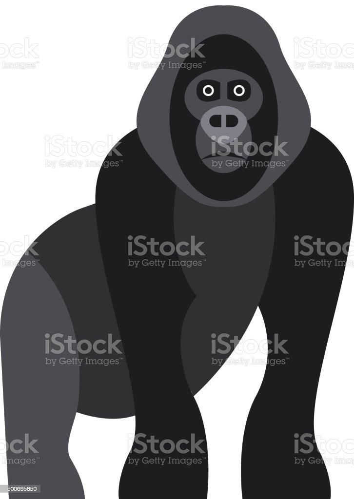 かわいい猿のアイコン、ロゴ、シンボル。TM ベクターアートイラスト