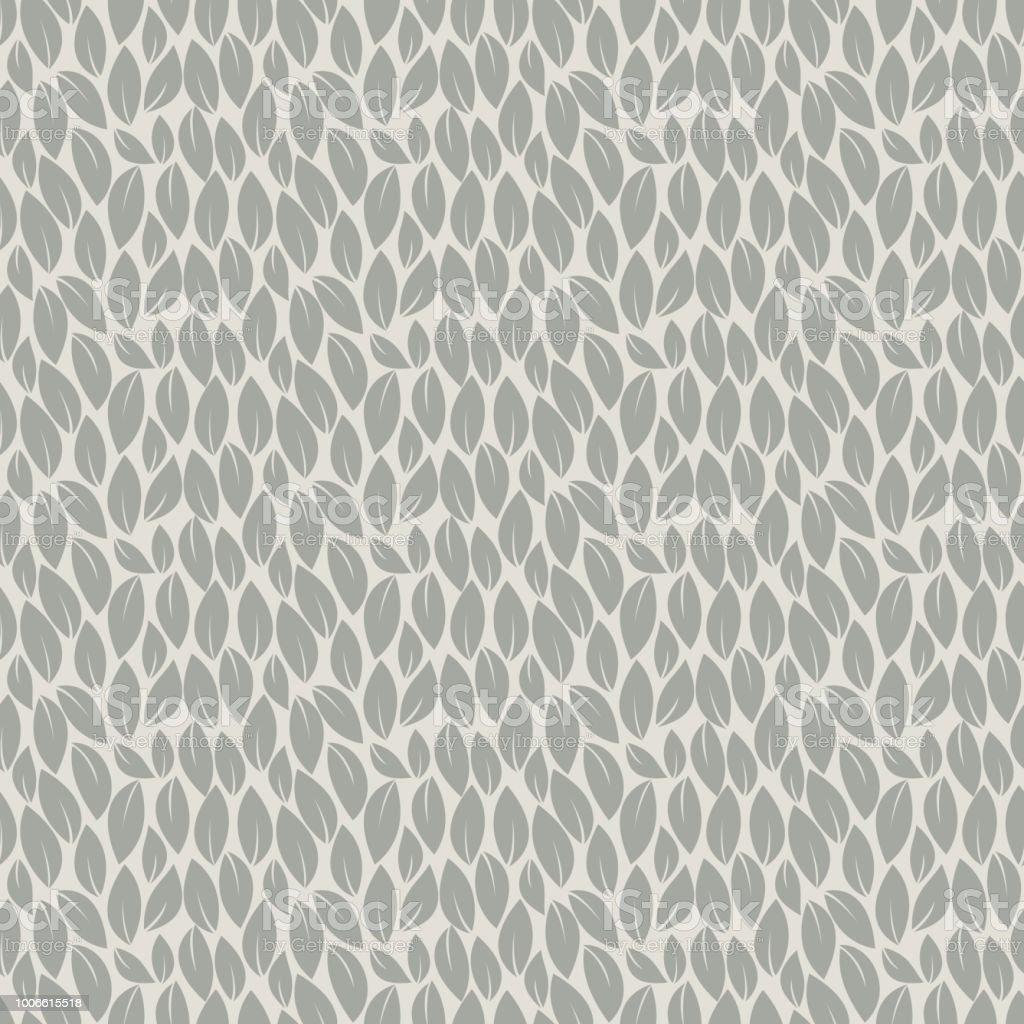 かわいいモノトーンの背景テクスチャ壁紙バナーシームレスなパターンの葉などベクター デザインのラベル イラストレーションのベクターアート素材や画像を多数ご用意 Istock