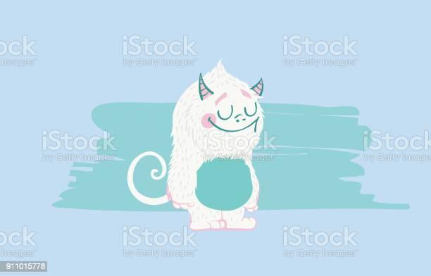 Cute monster character snow plush creature urban cartoon vector vector id911015778?b=1&k=6&m=911015778&s=612x612&h=qqkoebgolii6dus nirdlufkdba3mn3ew93vb6ncfqk=