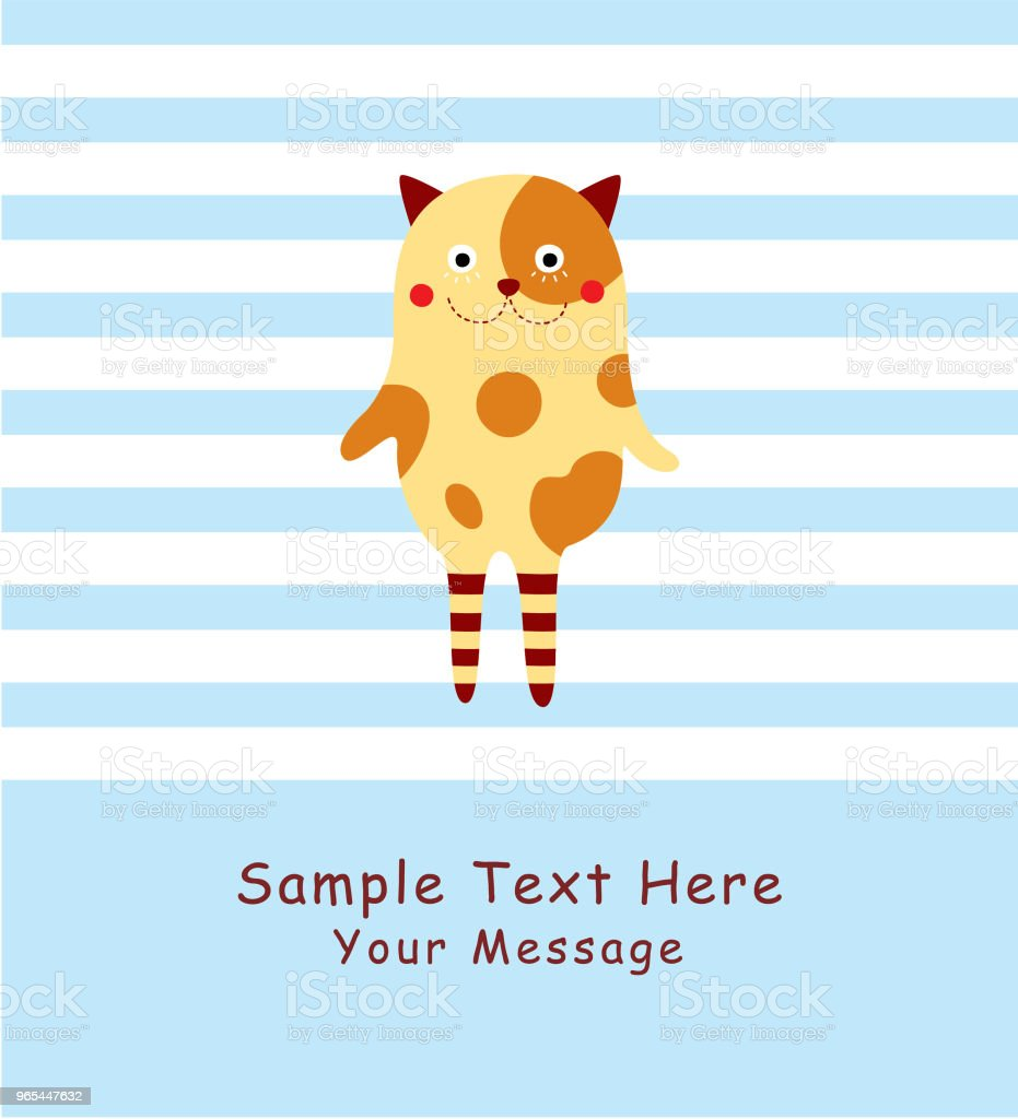 cute monster greeting card vector cute monster greeting card vector - stockowe grafiki wektorowe i więcej obrazów baby shower royalty-free