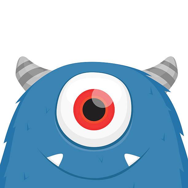 Cute monster vector vector art illustration
