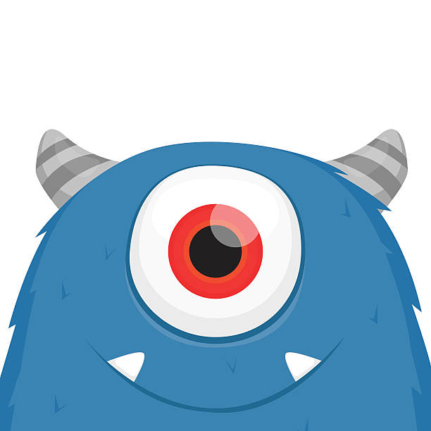 cute monster vector - monster stock-grafiken, -clipart, -cartoons und -symbole