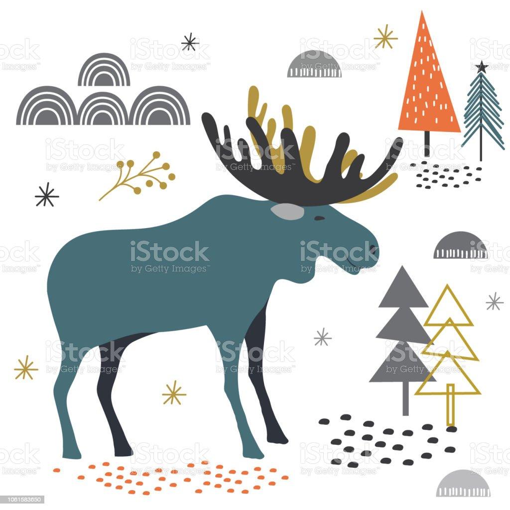 Moose Clipart Cartoon Free Clipart Images 3 - Moose Clip Art, HD Png  Download , Transparent Png Image - PNGitem