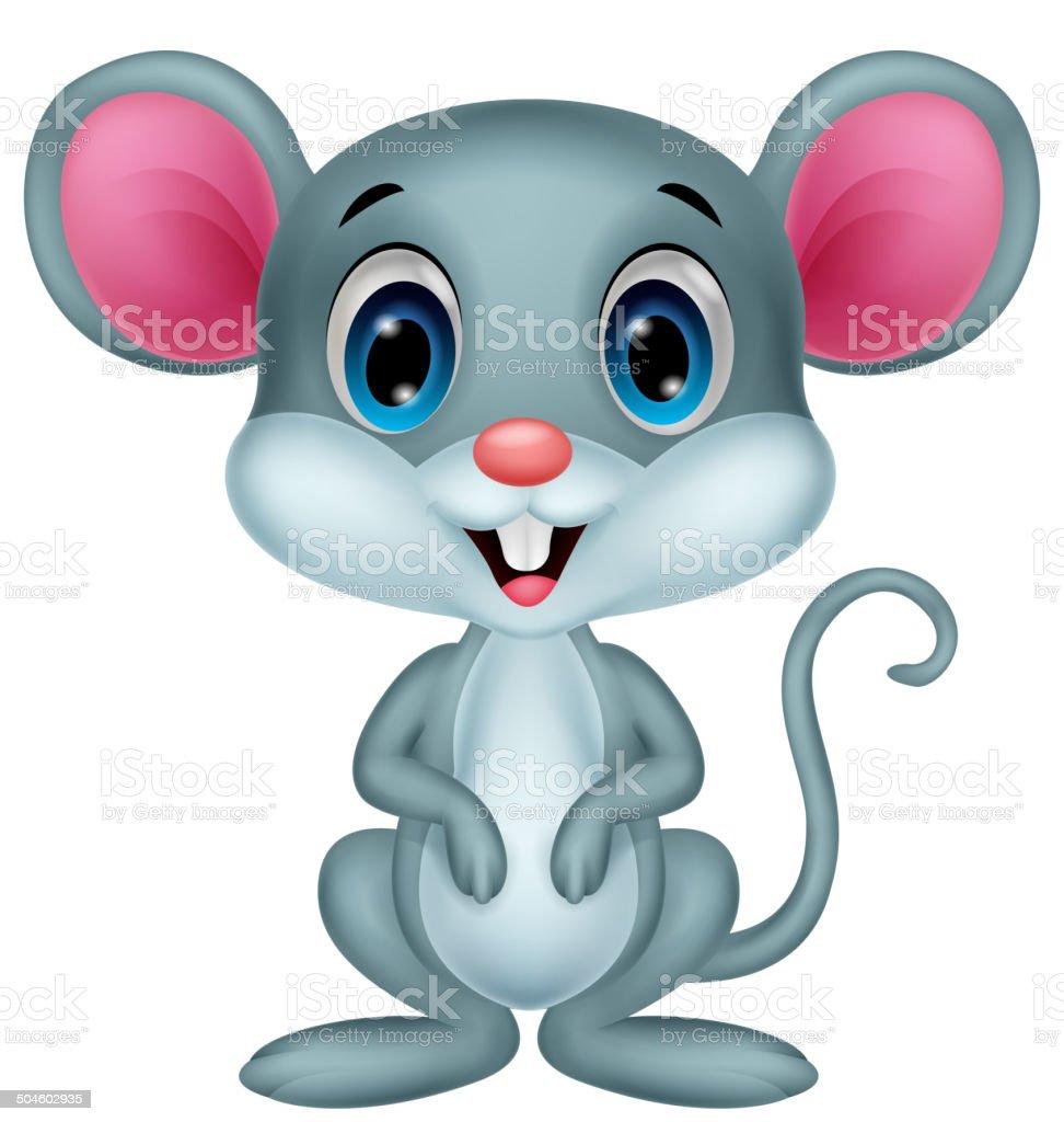 Süße Maus Comic Stock Vektor Art Und Mehr Bilder Von Beutelratte