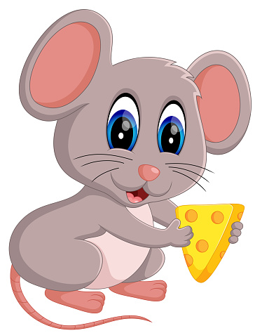 Cute Mouse Cartoon Stock Illustration - Download Image Now ...