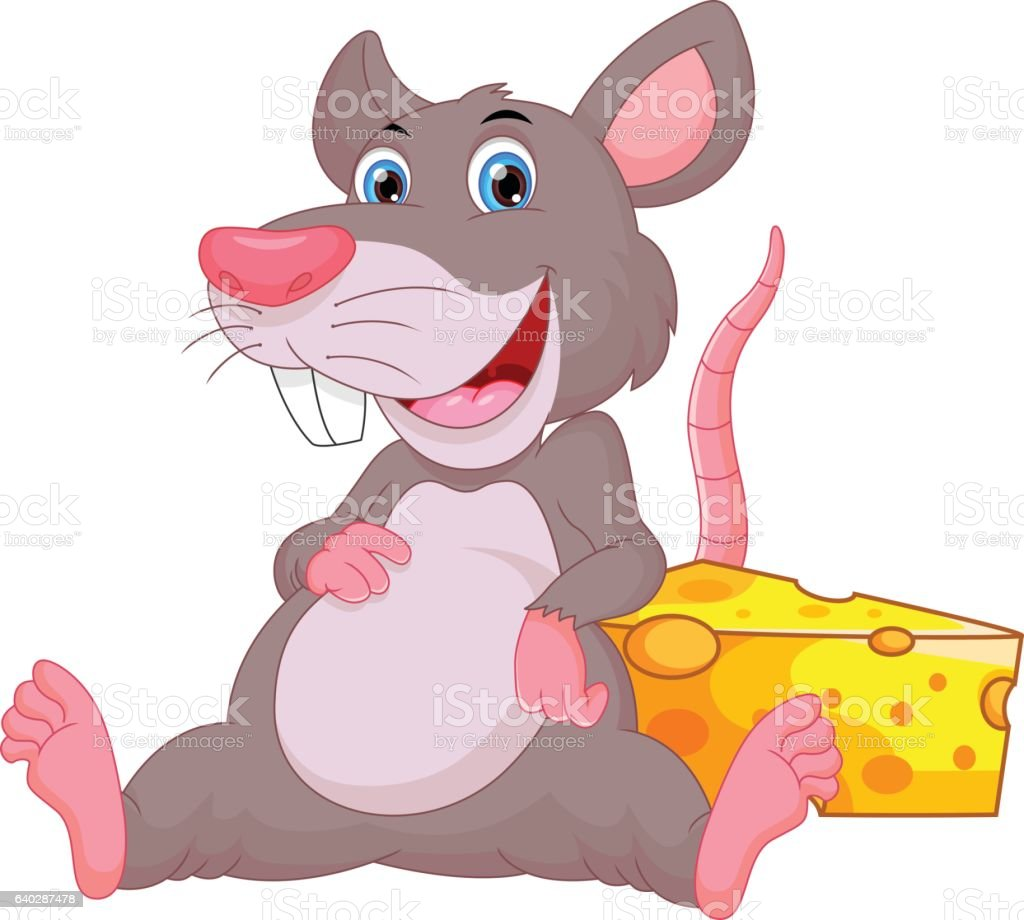 Cute Mouse Cartoon Stock Vector Art & More Images of ...
