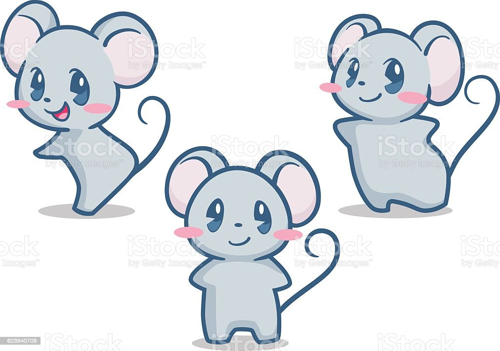 Cute Mouse Stock Illustration - Download Image Now - iStock