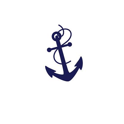 Cute Nautical Icon - Anchor