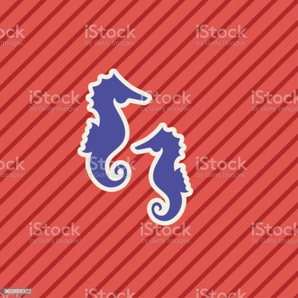 Cute Nautical Icon - Arte vetorial de stock e mais imagens de Azul