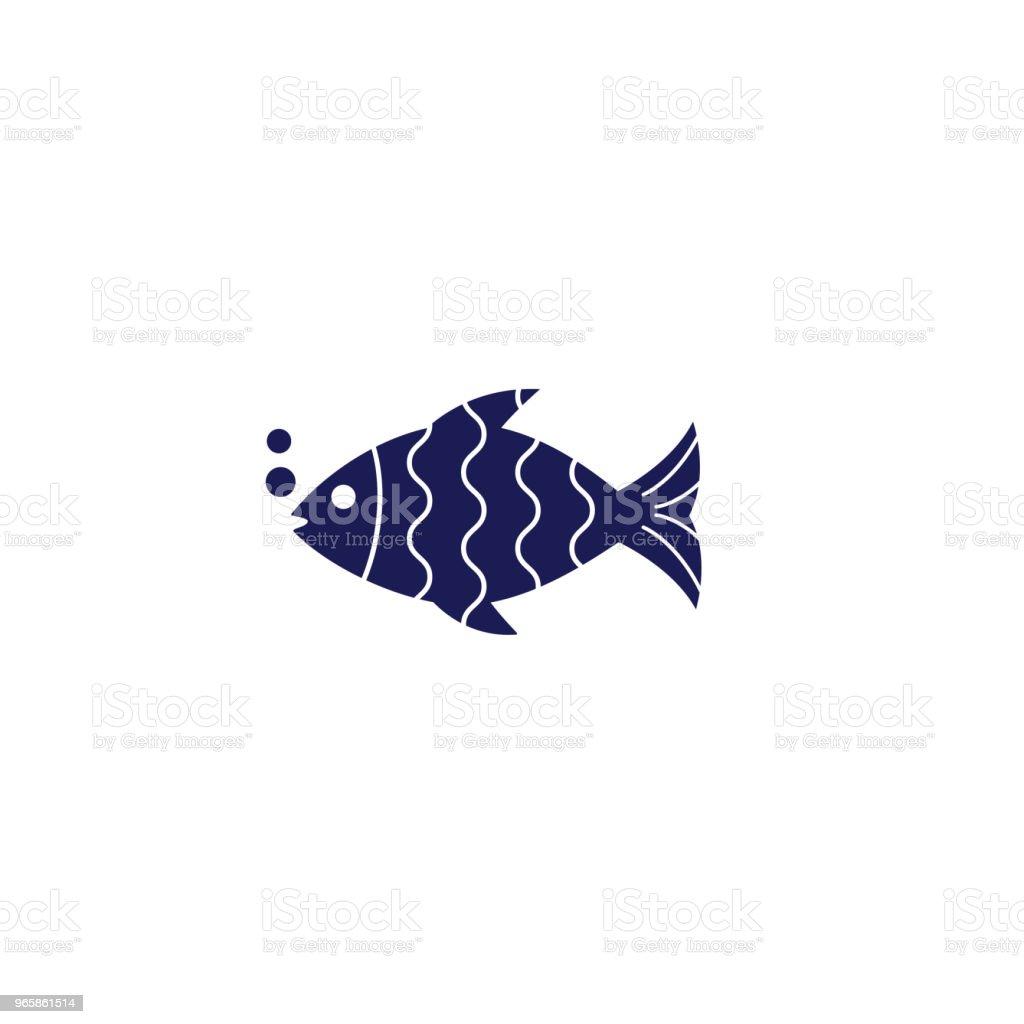 Schattige nautische icoon - Royalty-free Canada vectorkunst